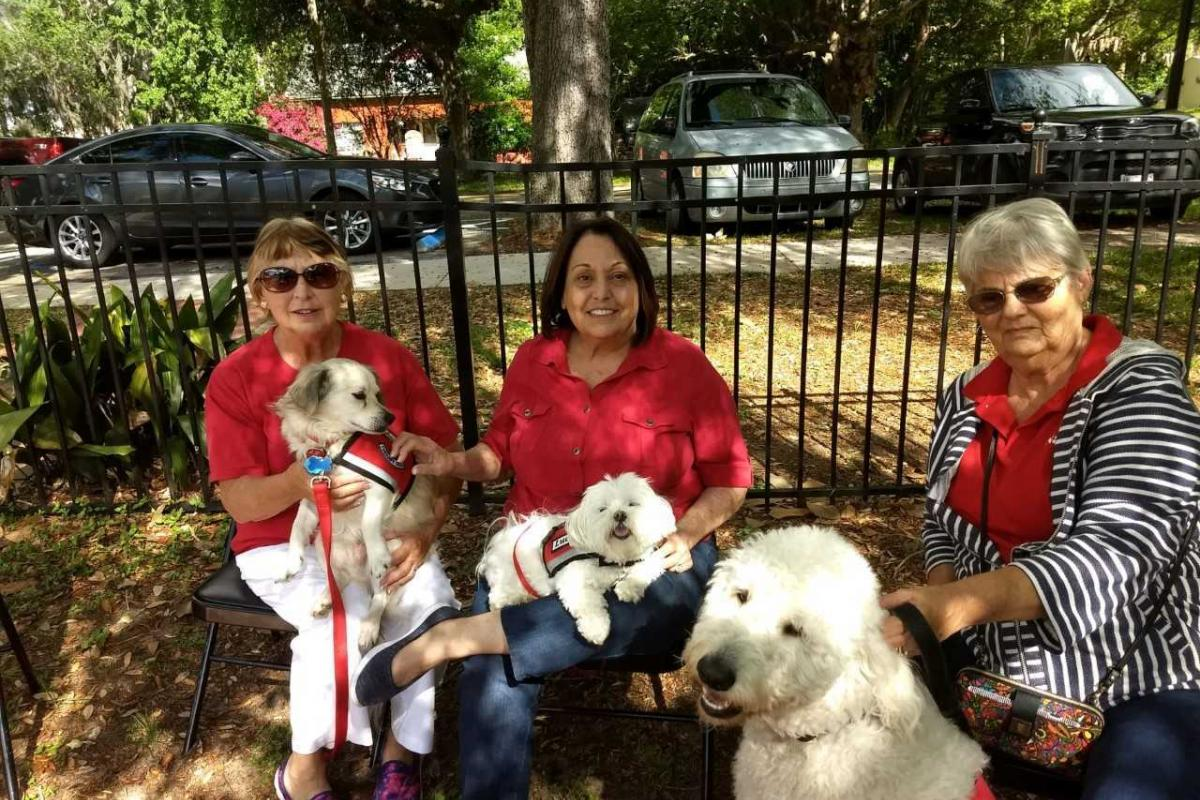 PAWS Therapy Dogs